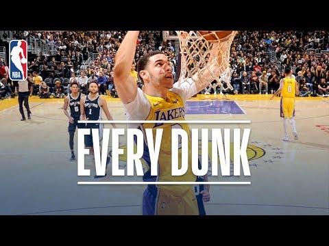 Larry Nance Jr., Tyrone Wallace, and Every Dunk From Thursday Night | January 11, 2018