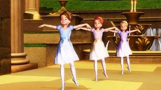 Barbie in The 12 Dancing Princesses - Second dance in the magical realm (Ballet)