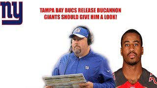 New York Giants- Tampa Bay Bucs release Deone Bucannon Giants need to give him a look!