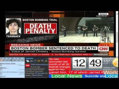 BREAKING NEWS: Boston Bomber sentenced to death - CNN