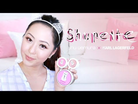 TUTORIAL: Shupette by Karl Largerfeld for Shu Uemura + REVIEW
