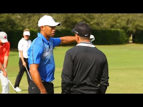First look at Tiger Woods' new swing with consultant Chris Como