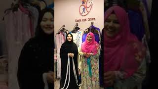Abaya and Gown l Selfie Action Video 2018 ll Exclusive Video ll Live Video