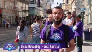Global Dawah Day 2014 in Linz, Österreich