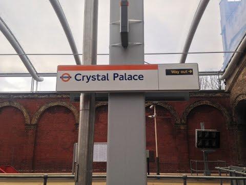 Full journey on London Overground from Crystal Palace to Highbury & Islington