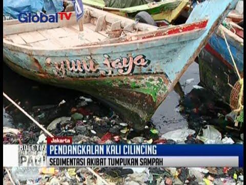 Sampah dan lumpur rusak ekosistem, pendangkalan Kali Cilincing sangat memprihatinkan - BIP 12/02