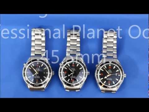 Omega Planet Ocean Replica VS Real Watch