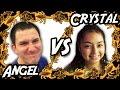 Angel VS Crystal - Bug Appétit Claw Machine Challenge