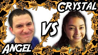 Angel VS Crystal - Bug Appétit Claw Machine Challenge