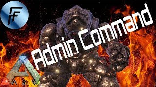 ARK: Survival Evolved How to Spawn the Lava Golem