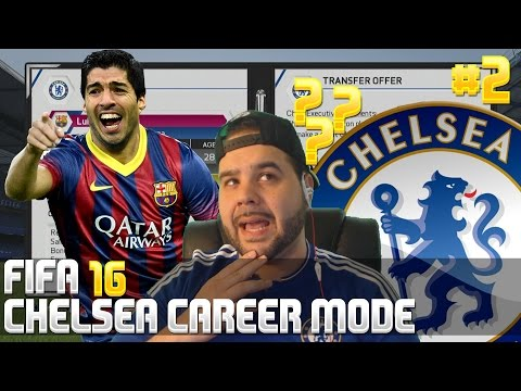 Luis Suarez Back To England!? - Fifa 16 Chelsea Career Mode