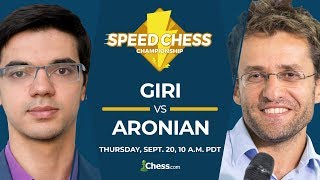2018 Speed Chess Championship: Giri vs Aronian