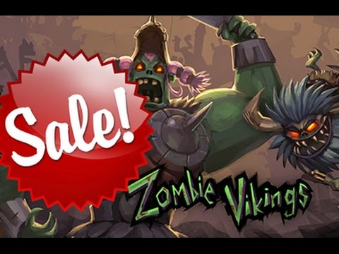 Zombie Vikings is now on sale for 4€ in the EU store -  Couch co-op brawler