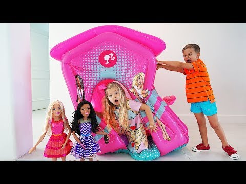 Diana and Barbie Party