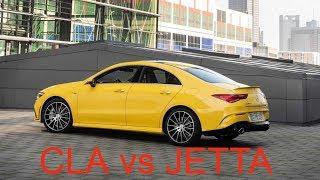 2020 Mercedes CLA AMG vs 2019 Volkswagen JETTA GLI