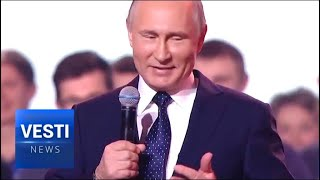 "Putin Hears From Leaders of Citizen-Led Initiatives at the ""Russia - Land of Opportunity"" Forum"