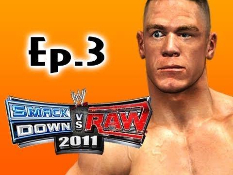 Smackdown Vs Raw 2011: John Cena Road to Wrestlemania Ep.3 (Gameplay/Commentary)