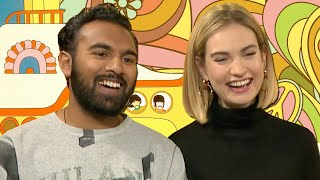 Lily James & Himesh Patel Reveal Most Romantic Thing They've Ever Done | Yesterday | PopBuzz Meets