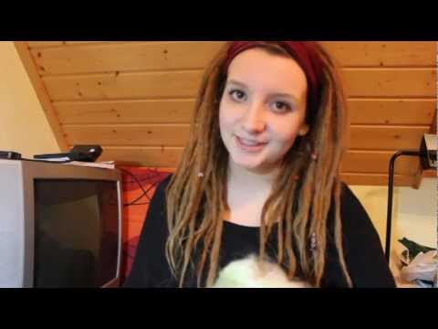 Dreadlocks selber machen - meine Methode (Backcombing)