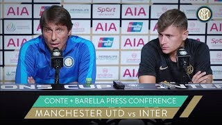 MANCHESTER UNITED vs INTER | ANTONIO CONTE + NICOLO' BARELLA PRESS CONFERENCE | ICC 2019 [SUB ENG]