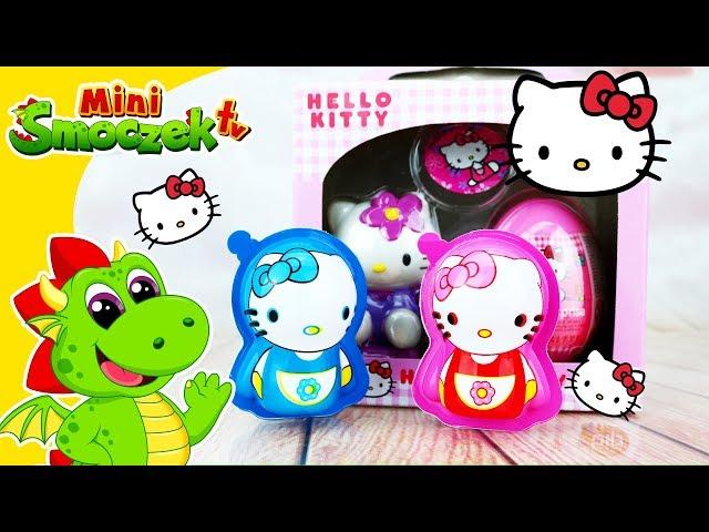 Hello Kitty Jajka Niespodzianki Zabawki Bajki FIlmik Dla Dzieci Po Polsku