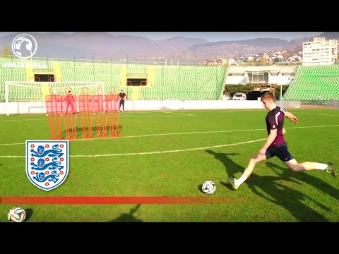 England U21s train in Bosnia on Armistice Day | Inside Training