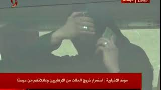 Syria | Shy Terrorist With Smartphone & Rings Leaving Eastern Ghouta (Harasta) to Idlib