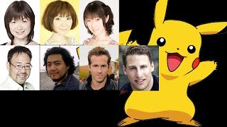 Anime Voice Comparison- Pikachu (Pokemon)