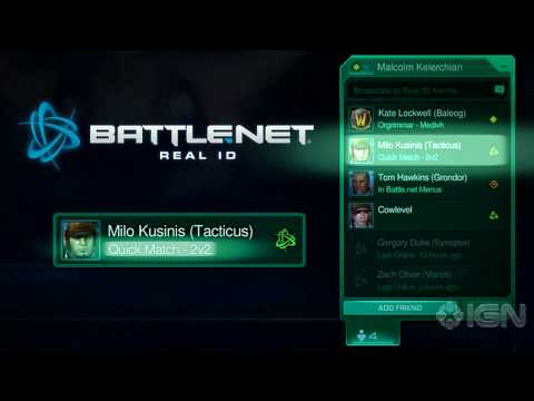 StarCraft II: Battle.net Overview