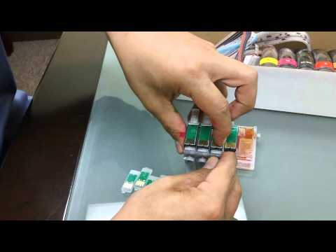 How to Remove Reset Button Chip on Continuous Ink System CISS CIS System