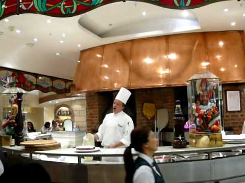 Harrods' Food Hall Pizza Chef