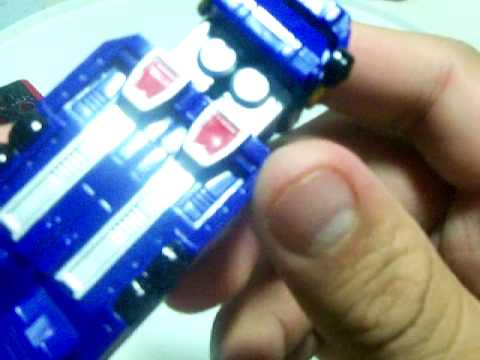 Power Rangers RPM High Octane Micro Megazord Review