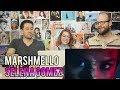 Lagu Selena Gomez Marshmello - Wolves (Vizualizer) REACTION