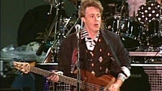 Paul McCartney   Birthday 1990 Live Video HQ