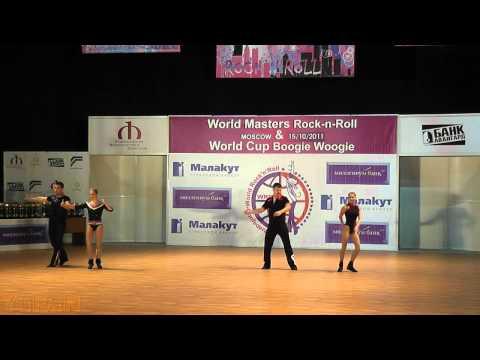 Legvard - Bracun (CRO) & Panferov- Shatokhina (RUS) - World Masters Moskau 2011
