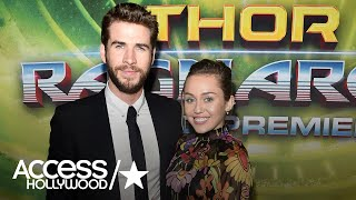 Miley Cyrus & Liam Hemsworth Look Loved Up At Rare Red Carpet Appearance | Access Hollywood