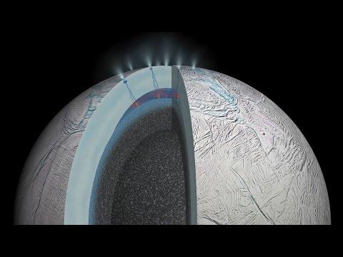 Hydrothermal activity on Enceladus, Saturn's moon