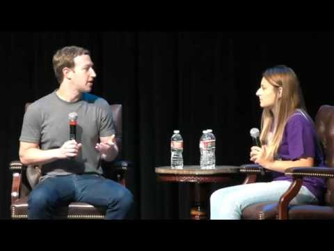 Q&A with Mark Zuckerberg at Sequoia High School
