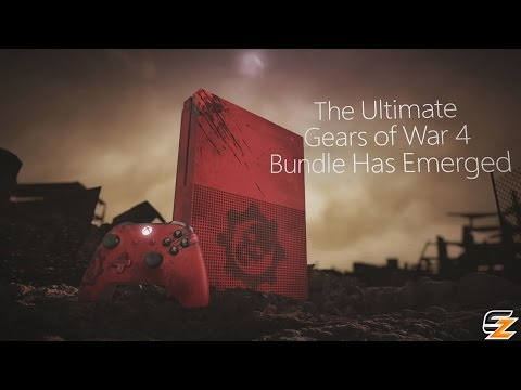 Gears of War 4 Xbox One S Limited Edition Console Trailer Official Reveal!