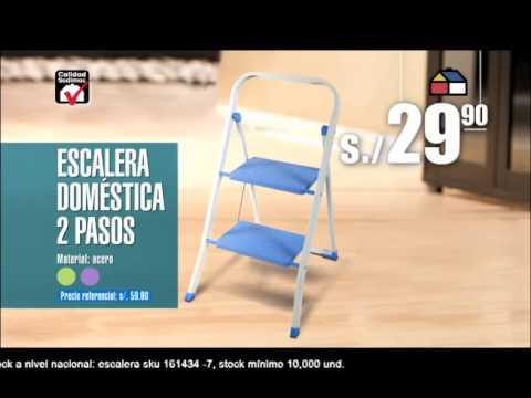 Escalera sodimac youtube for Escaleras sodimac