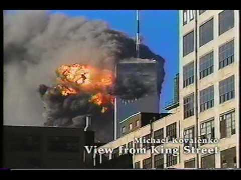 9/11/01 LIVE! News/Amateur Video World Trade Center Part 1