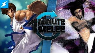 One Minute Melee - Kim vs Juri (King of Fighters vs Street Fighter)