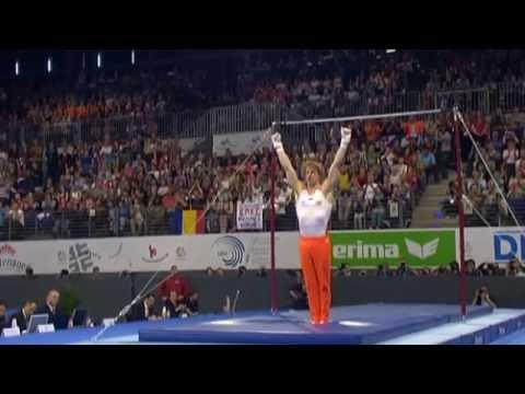 Gymsport TV - Turnen heren EK 2011 Goud Epke Zonderland op rek tijdens EK 2011