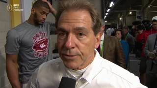 Saban proud of team after loss