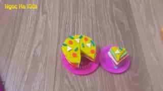 Play doh pizza | pizza | Make Pizza From Play doh | dat nan | dat set | Ngoc Ha Kids