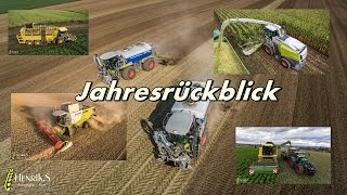 Best of Copter 2016 | Landmaschinen im Einsatz | Fendt | John Deere | Claas