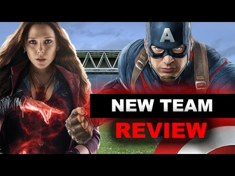 Avengers 2 Age of Ultron NEW TEAM in End Scene - Civil War 2016 - Beyond The Trailer