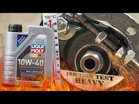 Liqui Moly MoS2 Leichtlauf 10W40 Jak skutecznie olej chroni silnik? 100°C