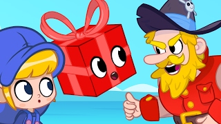 The Pirates want Morphle's gift! Cartoons for kids