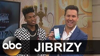 Magician Jibrizy Amazes Windy City Live with Phone Trick